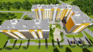 Розташування будинків Кременчуцька