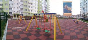 Дитячі майданчики на Розсошенцях