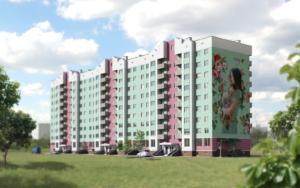 Фасад будинку Перспективна8